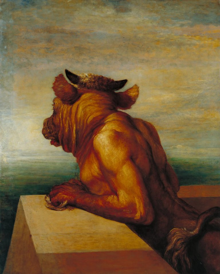 George Frederic Watts - The_Minotaur